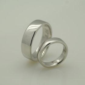 写真:Pt900結婚指輪